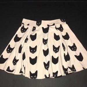 H&M Cat Skater Skirt